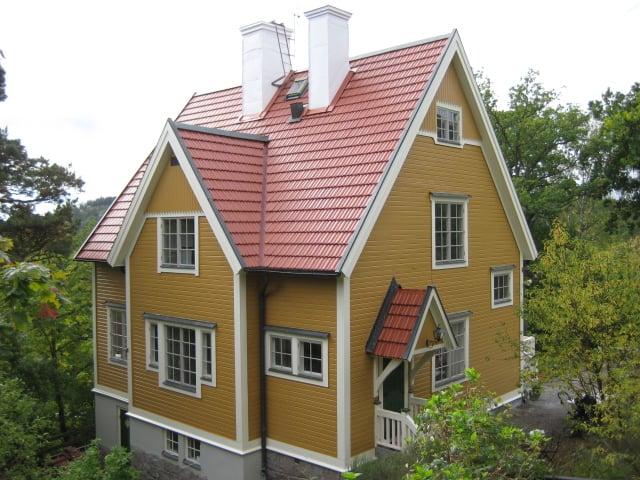 Målning av fasad